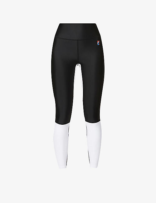 P.E NATION: Speed stretch-woven leggings