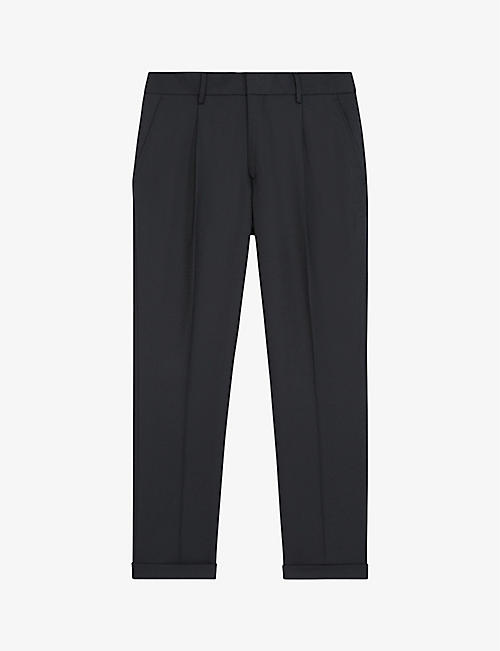 THE KOOPLES: Pleated woven trousers