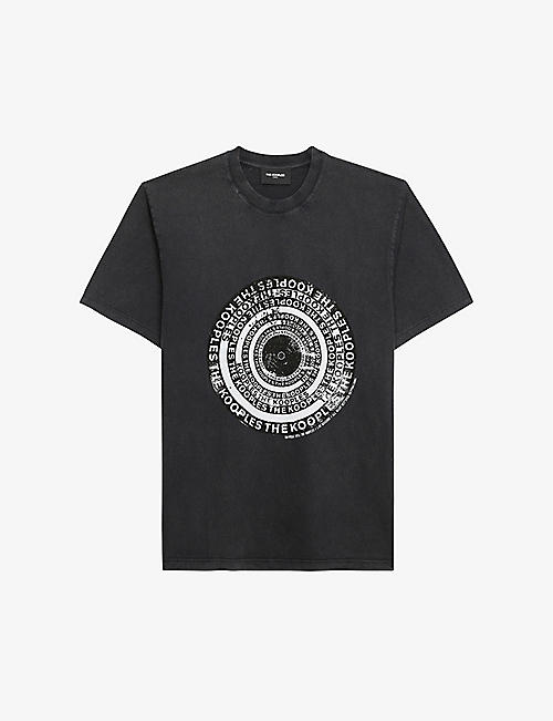 THE KOOPLES: Graphic-print cotton T-shirt