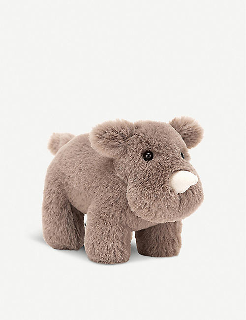 JELLYCAT: Diddle Rhino soft toy 14cm