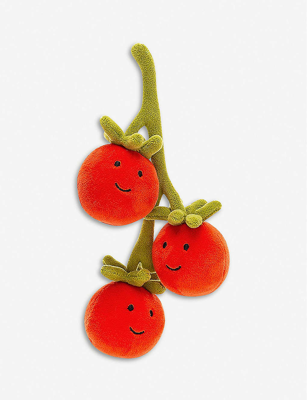 JELLYCAT: Vivacious Vegetable Tomato soft toy 21cm