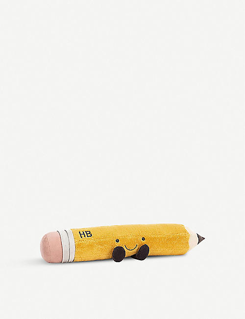 JELLYCAT: Smart Stationery Pencil soft toy 12cm