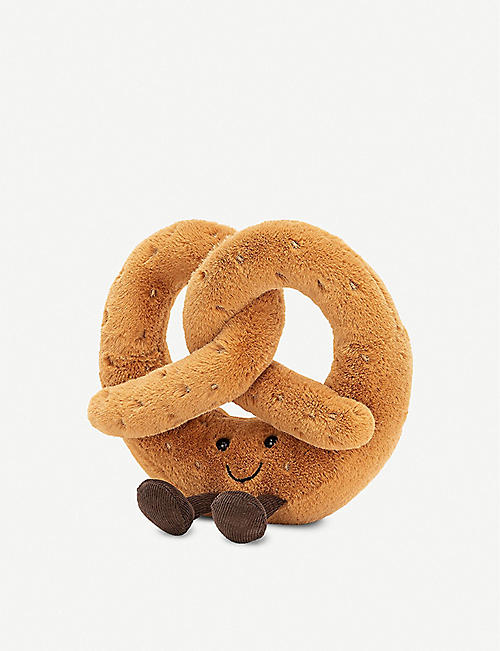 JELLYCAT: Amusable Pretzel soft toy 18cm