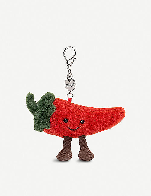 JELLYCAT: Amuseable Chilli plush bag charm 13cm