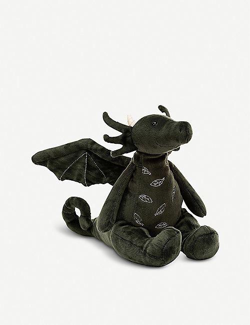 JELLYCAT: Forest Dragon plush toy 19cm