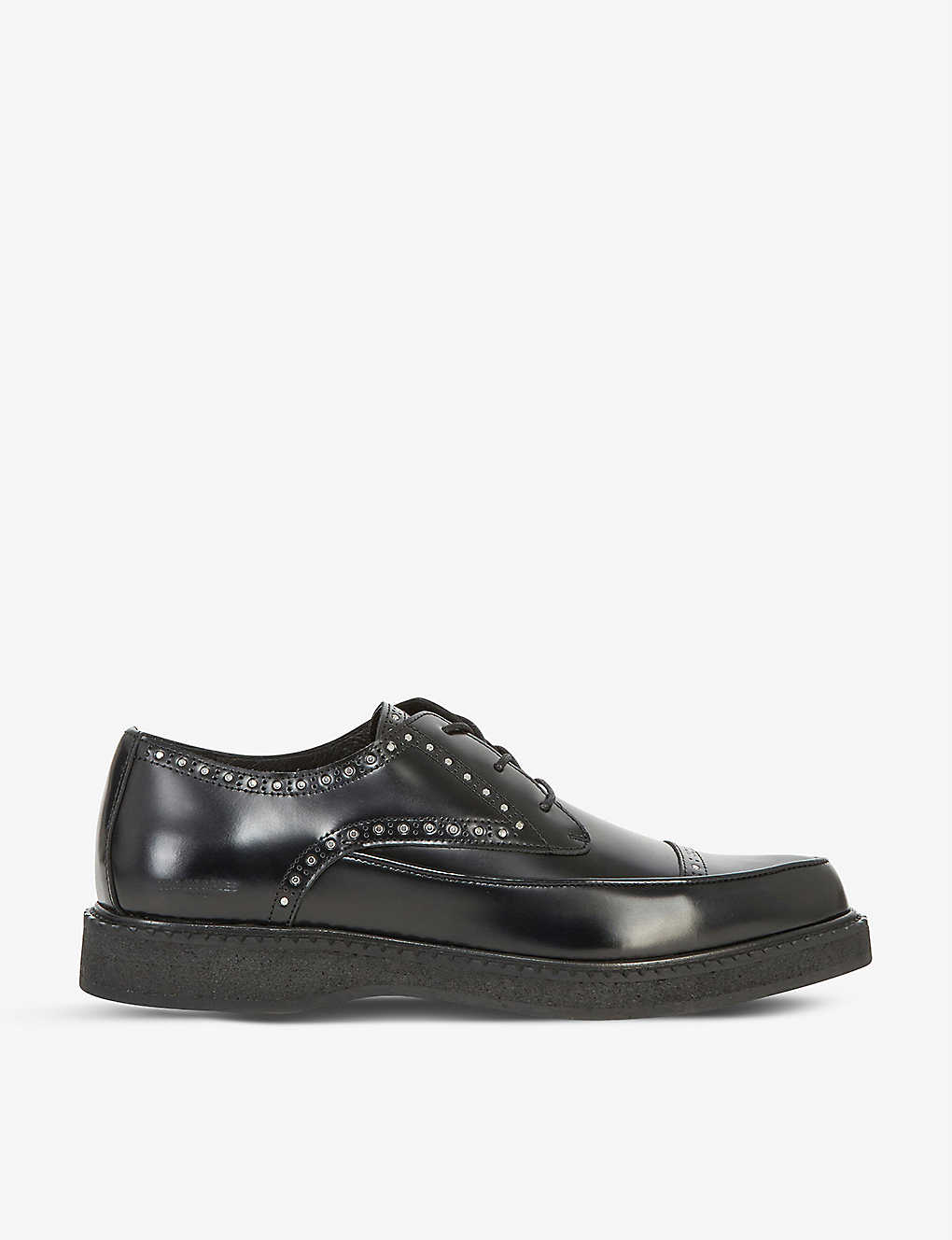 The Kooples Leathers STUDDED LEATHER BROGUES