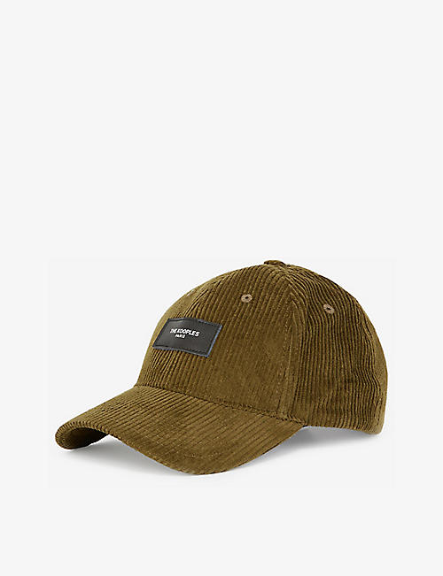 THE KOOPLES: Logo-embroidered corduroy cap
