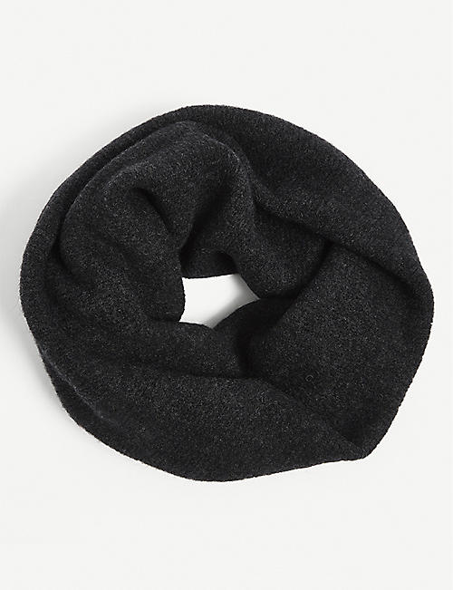 ISABEL BENENATO: Wool-blend snood