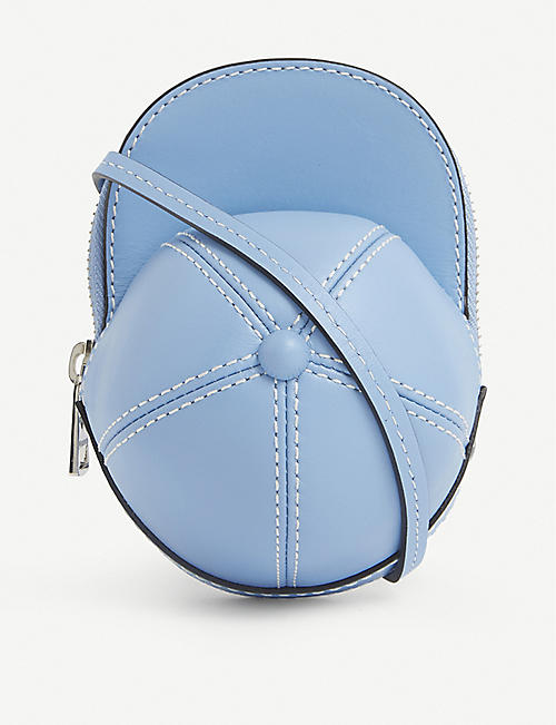 JW ANDERSON: Cap small leather cross-body bag