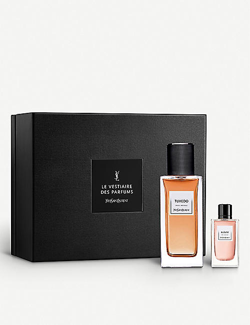 YVES SAINT LAURENT: Le Vestiaire des Parfums Tuxedo and Blouse eau de parfum gift set