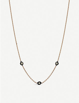 THE ALKEMISTRY: Kismet by Milka 14ct rose-gold and diamond choker