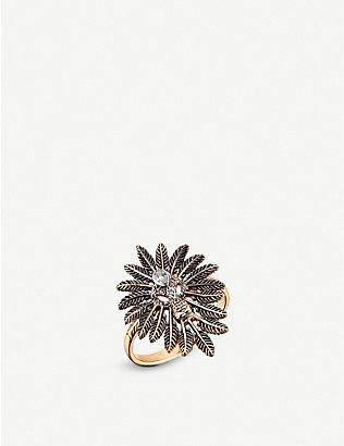 THE ALKEMISTRY: Kismet by Milka Lion 14ct rose-gold and diamond ring