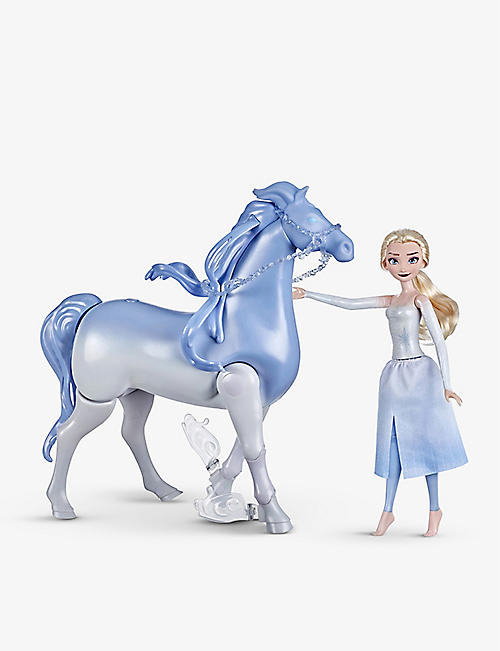FROZEN II: Elsa and Swim & Walk Nokk dolls