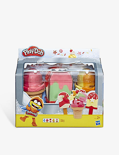 PLAYDOH: Ice Pops 'n' Cones Freezer Themed 4-pack playset