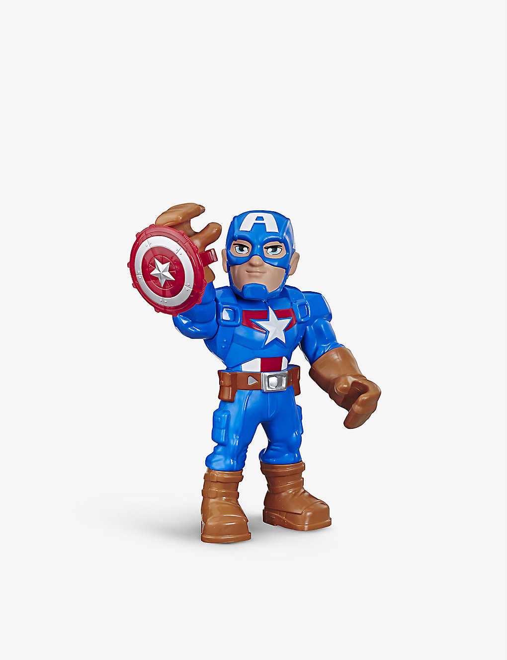 MARVEL AVENGERS: Mega Mighties Super Hero Adventures Captain America figure 25cm