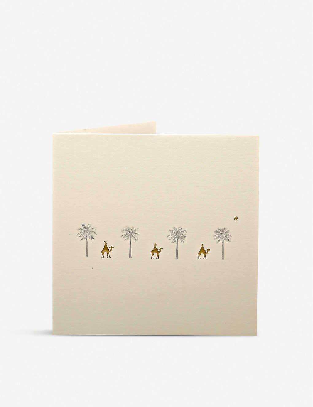 JULIE BELL: Pack of 10 Three Kings greetings cards 14.8cm x 14.8cm