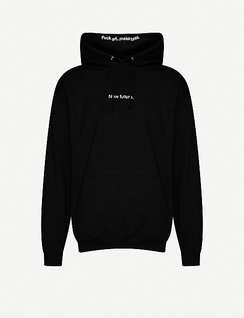 FAMT: New Future cotton-jersey hoody