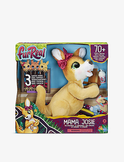 FURREAL: Mama Josie Kangaroo interactive pet toy 39.37cm