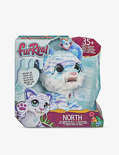 FURREAL: North the Sabertooth Kitty toy pet