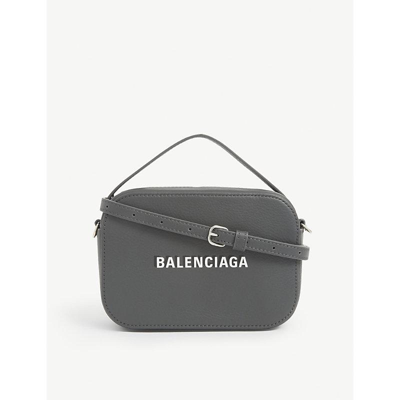 Balenciaga EVERYDAY LEATHER CAMERA BAG