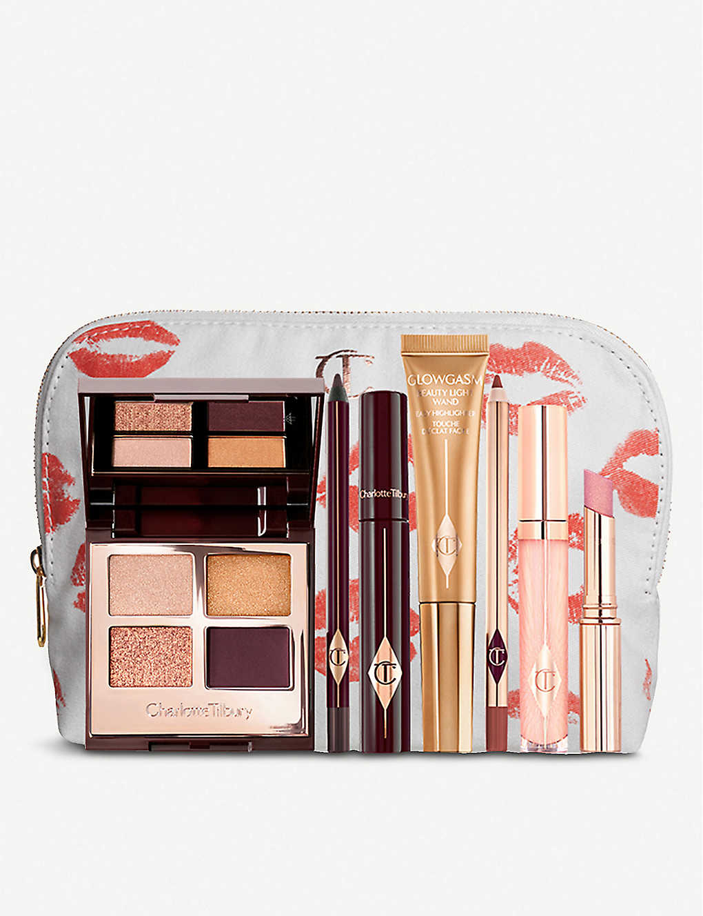 CHARLOTTE TILBURY: The Queen of Glow Look set