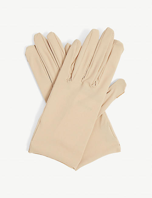 AGNELLE: Hygie barrier nylon-blend gloves