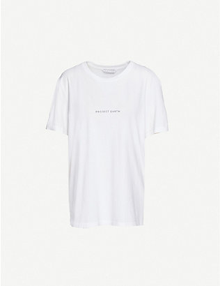RILEY STUDIO: Project Earth recycled and organic cotton T-shirt