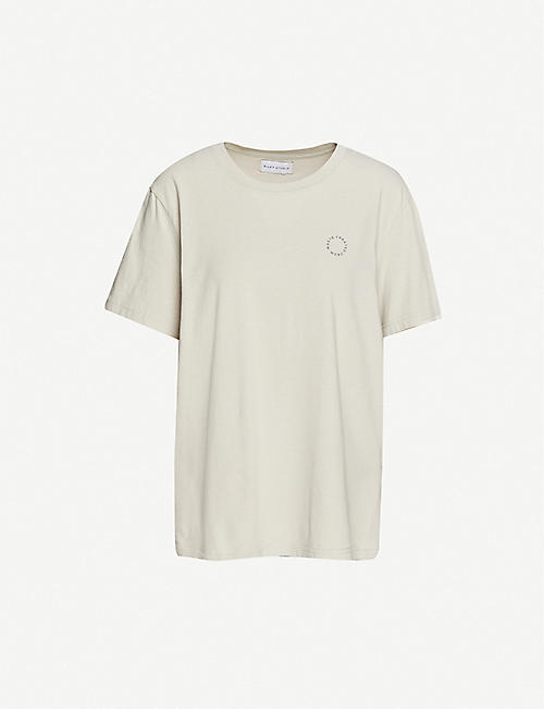 RILEY STUDIO: Created From Waste recycled and organic cotton T-shirt