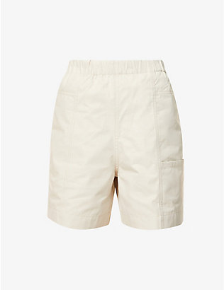 RILEY STUDIO: Organic cotton pocket shorts