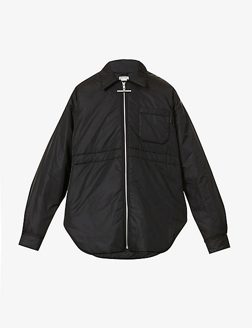 MARNI: Padded shell jacket