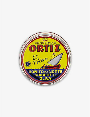 ORTIZ: Ortiz white tuna fillets in olive oil 250g
