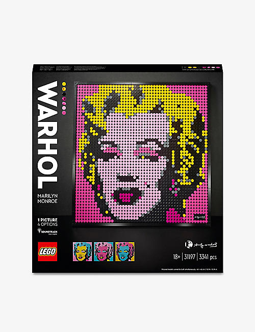 LEGO: LEGO® Art 31197 Andy Warhol's Marilyn Monroe set
