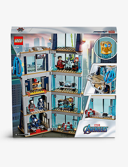 LEGO: LEGO® Marvel Avengers 76166I Avengers Tower Battle playset