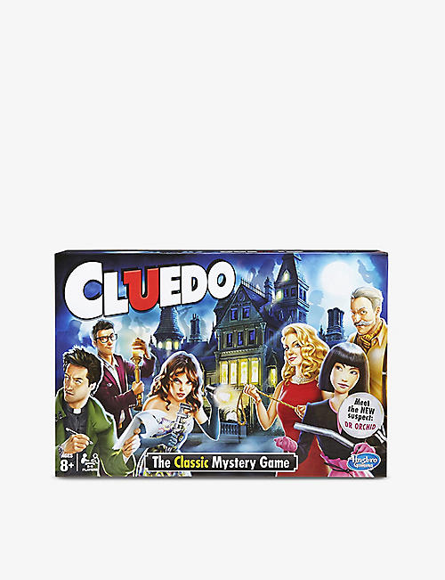 BOARD GAMES: Cluedo board game