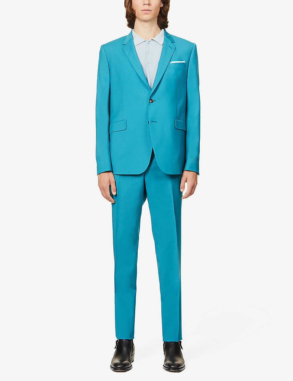 PAUL SMITH: Kensington-fit wool and mohair-blend travel suit