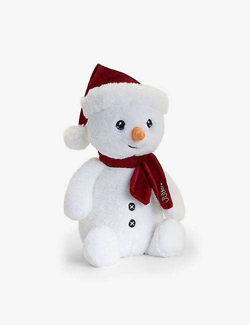 KEEL: Keel Eco snowman with hat soft toy 25cm