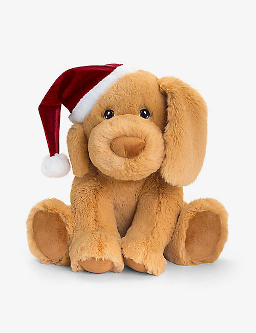 KEEL: Keel Eco puppy with hat soft toy 25cm