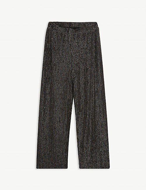 MOLO: Glitter-striped trousers 4-14 years