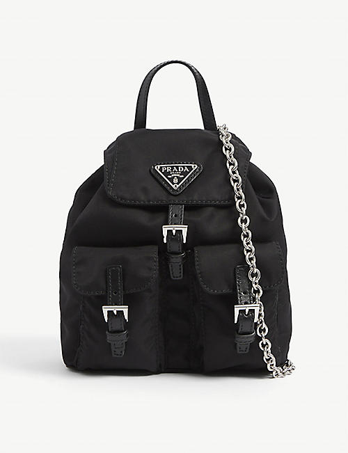 PRADA: Baby nylon backpack