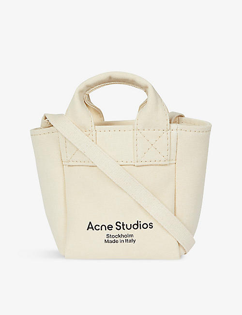 ACNE STUDIOS: Aleah canvas cross-body bag
