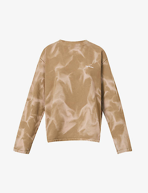 ACNE STUDIOS: Fabia cotton-jersey sweatshirt