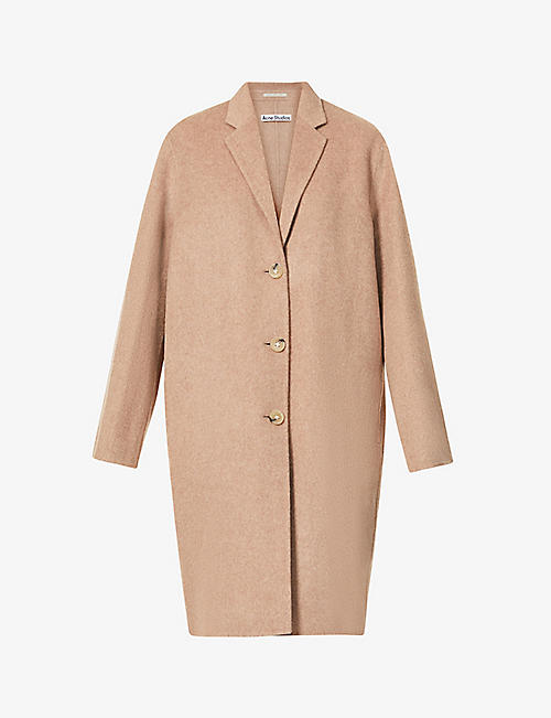 ACNE STUDIOS: Avalon single-breasted wool coat