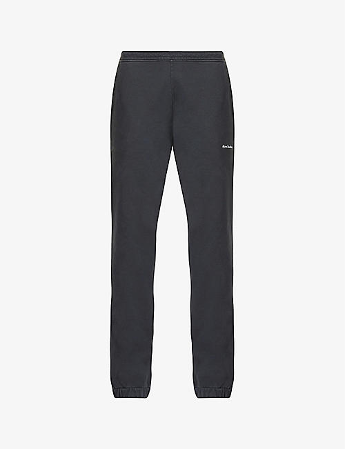 ACNE STUDIOS: Fanna cotton-jersey jogging bottoms