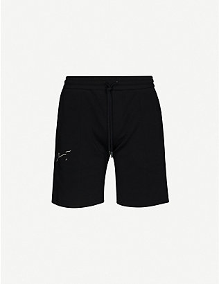 PREVU: Signature cotton-jersey shorts