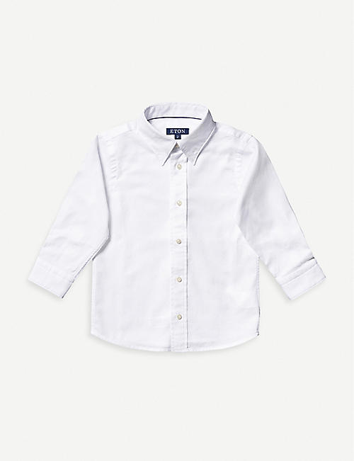 ETON: Button-up cotton shirt 1-8 years