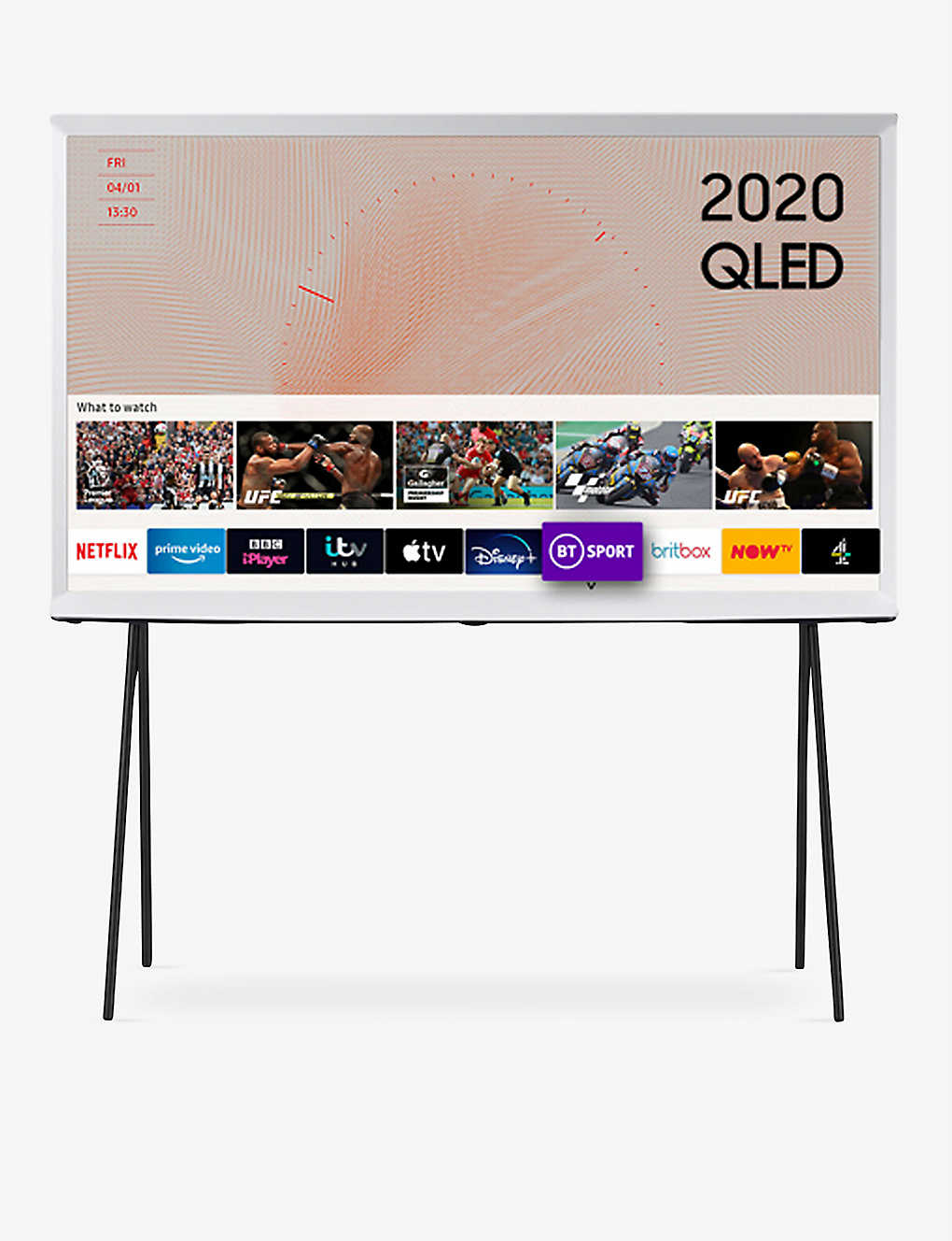 "SAMSUNG: 2020 43"" The Serif QLED 4K HDR Smart TV"