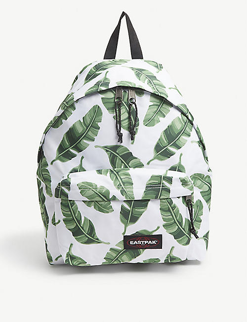 EASTPAK: Padded Park'r leaf-print nylon backpack