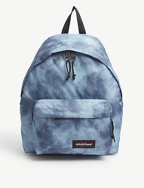 EASTPAK: Padded Pak'r tie-dye nylon backpack
