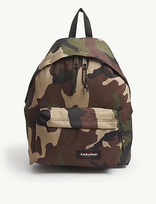 EASTPAK: Padded Pak'r camouflage-print canvas backpack