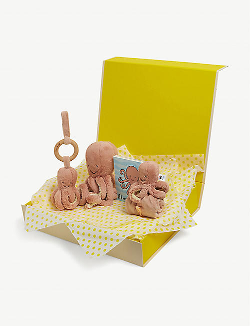 SELFRIDGES: If I Were An Octopus baby hamper gift set